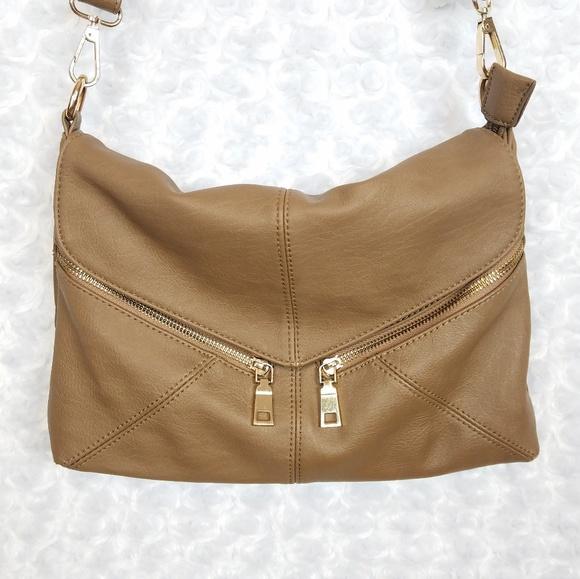 Nine West Handbags - Nine West Tan Crossbody